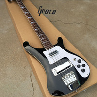 Grote, bass guitar 4003 black 4 string electric bass guitar,...