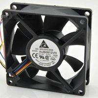 Для Delta DELTA 8025 8 СМ 0.41A ШИМ с автоматическим регулированием скорости процессора вентилятор радиатора AUB0812VH