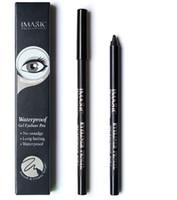 Yeni varış 1 adet Siyah Su Geçirmez Eyeliner Kalem Kalem Makyaj Güzellik Kozmetik Aracı + 1 adet Kalemtıraş wholeasale ücretsiz kargo