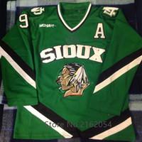 North Dakota Fighting Sioux  9 Jonathan Toews Ice Hockey Jersey Mens Stitched  Custom any Number and name Jerseys 4e192e9e1