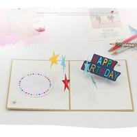 الخماسية نجمة اليدوية kirigami اوريغامي 3d المنبثقة بطاقات المعايدة دعوة بريدية ل عيد الميلاد حزب هدية