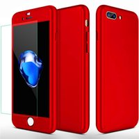 360° Full Protection Case For iPhone X 8 7 6 6S Plus Samsung...
