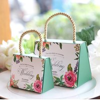 Free shipping High- quality Buerfly Flower Candy Boxes Weddin...
