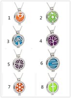 8 styles Aromatherapy Essential Oil Diffuser Necklace magnet...