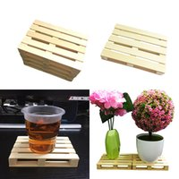 20PCS Wooden Drink Coaster Tea Coffee Cup Mat Pads Tableware...