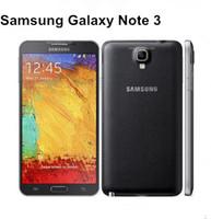 "Téléphone portable d'origine Samsung Galaxy Note 3 Quad Core 3G RAM 16GB ROM 13MP Caméra 5.7 ""Écran N9005 N9000 téléphone remis à neuf"