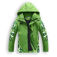 Spring Kids Windbreaker Boys Jacket Coat Outdoor Toddler Boy Blazer Barn Ytterkläder Manteau Garcon Casaco Infantil Kläder