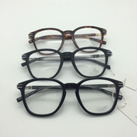 2020 neue Augen-Glas-Rahmen für Männer Glas-Rahmen Gold Silber TR90 optischen Glas Korrektionsbrillen Formatfüllend