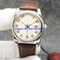 2018 classic men' s watch fine 36mm steel case high qual...