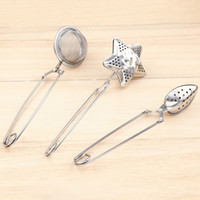3 Style Star shape Tea Infuser oval- Shaped 304 Stainless Ste...