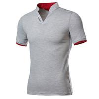 حار بيع جديد أزياء الرجال قميص بولو بلون قصيرة الأكمام يتأهل قميص الرجال القمصان القطنية عارضة بولو 5xl
