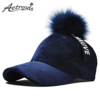 483ea23e14f New Arrival.  AETRENDS  8 Solid Colors Suede Snapback Baseball Cap Pom Pom  Hat Winter Baseball Hat Hip Hop ...