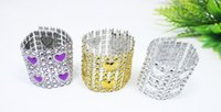 Wedding Napkin Holders Diamond Napkin Rings for Wedding Deco...