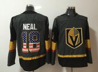 New Vegas Golden Knights Jerseys # 18 Neal Jersey 2018 New Hockey Jerseys Gris Color Número de bandera Tamaño M-XXXL Mezclar Ordenar todos los jerseys