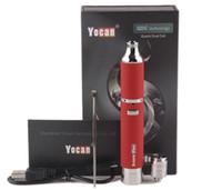 E-sigara Kitleri Yocan Evolve Plus Başlangıç Kitleri 1100mAh Pil ile Wax vape Kalem Kuvars Çift Bobin Evolve Petrol Buharlaştırıcı Kalem hediye kutusu ile