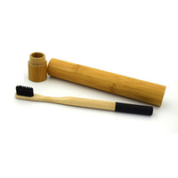1pc Toothbrush + 1pc Bamboo Tube Eco Friendly Natural Bamboo ...