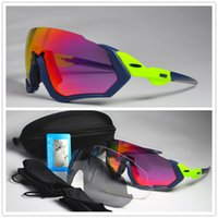 3 Lens Brand JBR Polarized Cycling Sunglasses Men Outdoor Sp...