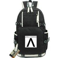 حقيبة ظهر Axwell Ingrosso أكثر مما تعلمون daypack حقيبة مدرسية بشعار DJ music bag
