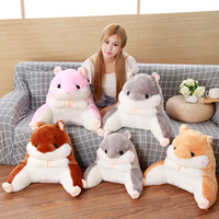 Stuffed Hamster Toy Lumar Support Pillow 2 in 1 Hamster Seat...