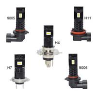 2pcs H4 H7 H8 H9 H11 9005 9006 30W CSP 6SMD principale auto fendinebbia testa 12V 24V lampada lampadina per auto moto