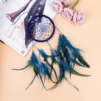 Blue Dream Catcher India Pendurado Decoração Dreamcatcher Para Casa Quarto Sala De Estar