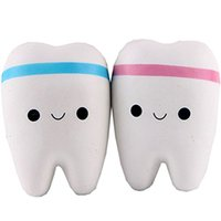 10CM Teeth PU Cute Lovely Cartoon Pendant Kawaii Squishy Sim...