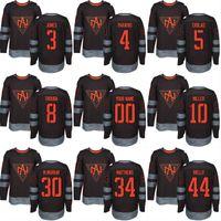 América do Norte 2016 da Copa do Mundo de Hóquei Jersey 10 J.T. Miller 34 Auston Matthews 44 Morgan Rielly 30 Murray Personalizado camisola do hóquei