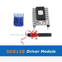 4шт 3D части принтера 128 микрошага SD6128 В1.1 Stepstick Шагового Водитель Мотора Модуль С Радиатором