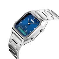 Wengle Yeni Dijital Bilek İzle Alarm Takvim tarih günü Chronograph Su Dayanıklı Su Geçirmez LED Noctilucent Kronometre elektronik izle
