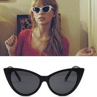 Luxus billig sonnenbrille farben cat eye sonnenbrille frauen markendesigner retro vintage sonnenbrille frauen weibliche damen sonnenbrille