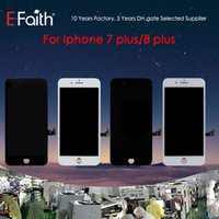 Wholesale- For iPhone 7 Plus iPhone 8 Plus Black LCD Screen D...
