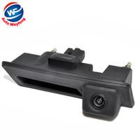 CCD HD водонепроницаемый автомобиль Рунк ручка парковки заднего вида резервного копирования камеры чехол для Audi / VW / Passat / Tiguan / Гольф / Touran / Jetta / Sharan / Touareg