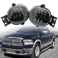 2 X Car Accessories Front Fog Light LED for 2002-2008 for Dodge Ram 1500 2500 3500 / for Dodge Durango 2004-2006 Fog Lamp