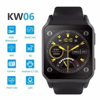 3G Android Smart Watch KingWear KW06 Wristwatch support SIM ...
