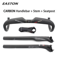 2018 EASTON ec90 Carbon fiber cicycle handlebar and bike ste...