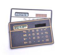 Calculatrice scientifique portable Style de carte bancaire Calculatrice de poche Mini calculatrice de stockage de portefeuille pour la papeterie c665