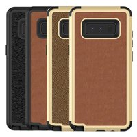 For Samsung Galaxy Note 9 Case Luxury PU Leather Soft TPU Ha...