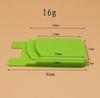 Popular Card Holder Silicone Cell Phone Wallet Case Credit I...