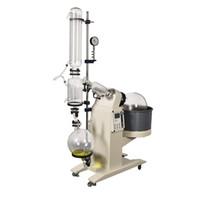 Zoibkd U.S. Overseas Warehouses 20L lab fornece aparelho de elevação de motor de vidro evaporador rotativo com banho de óleo de água digital