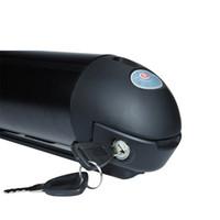 Bicicletas de alta calidad gratis 36V 15AH Botella con tubo bajante 18650 Baterías de litio 20A BMS para 350W 500W Bafang motor + Cargador