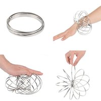Stainless Steel Rings Kinetic Sculpture Interactive Decompre...