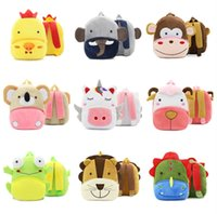 Cartoon Plush Kids Backpacks DHL Free Shipping Stuffed Anima...
