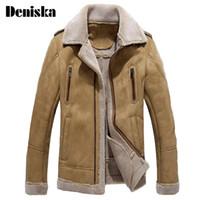 Англия мужская меховая кожаная куртка Jaque de couro masculino шубы среднего возраста мужская кожаная куртка пальто стройная подходящая пальто