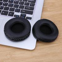 1 Pair Protein Leather Wymiana Ear Pads Do Sol Republic V8 V10 Tory Słuchawki Nauszniki Ręcznie Crafted Ear Poduszki