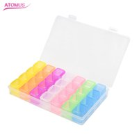 28 Slots Adjustable Plastic Storage Box Storage Box Box For ...
