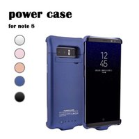 For Samsung Note 8 Battery Case Portable External Rechargeab...