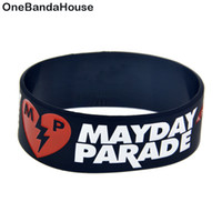 1PC Rock Band Mayday Parade Silicone Rubber Bracelet One Inc...