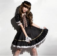 Shanghai Story Japanese Sweet Maid Dress Cosplay Maid Costum...