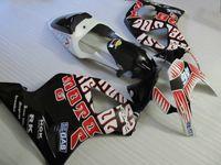 White black fairings set for Honda CBR900RR 2002 2003 CBR954 fairing kit 02 03 CBR954RR CBR 954RR QQ76