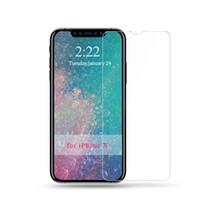 9h против царапин протектор экрана водонепроницаемый закаленное стекло для iPhone X XS MAX 7 высокое качество протектор экрана